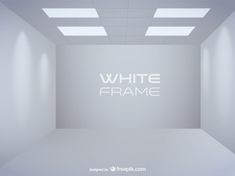 Free empty room vector art