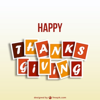 Free happy Thanksgiving vector