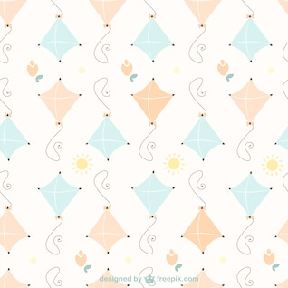 Free kites pattern