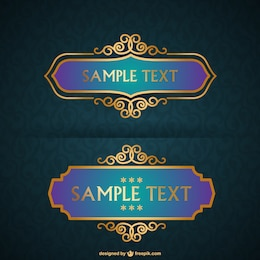 Free luxurious frames collection