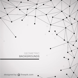 Free modern geometric template