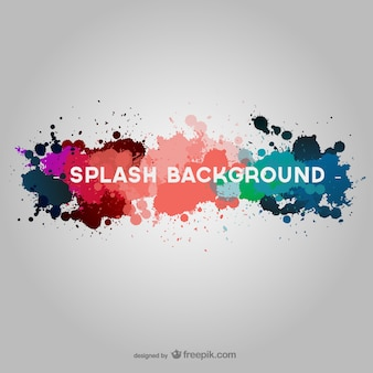 Free paint splatter wallpaper