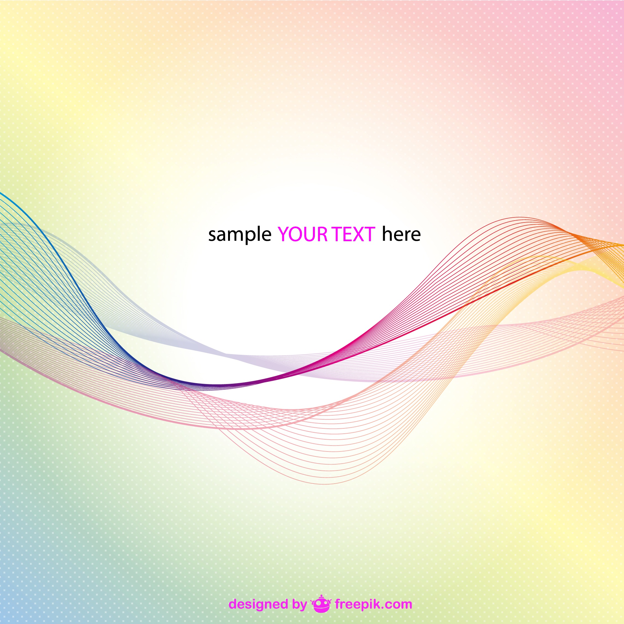 Free vector abstract image