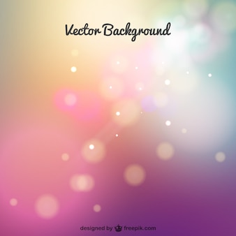 Free vector background with sparkles