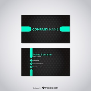 Free vector card template