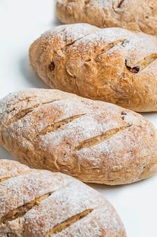 French bread, whole wheat bread