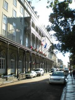 french quarter scene  vertical
