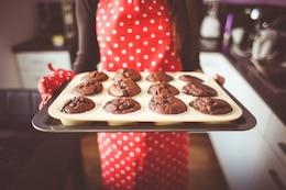 Freshly homemade muffins