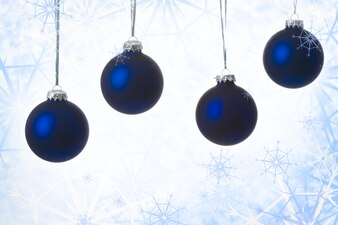Frosty newyear celebration color decorative