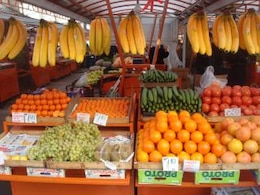 fruit and vegetables market  fruits