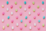 Fun composition with colorful candies