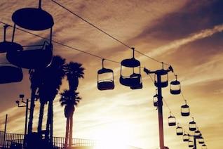 Funicular cabins