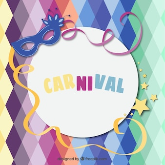 Funny carnival background