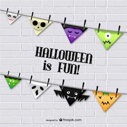 Funny Halloween bunting