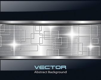 Futuristic metallic technology backgrounds