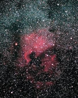 Galaxy nebula america space ngc north