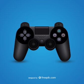 Game controller illustration