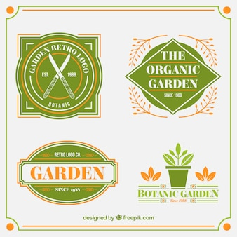 Garden badges collection