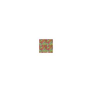Garden flowers vector pattern