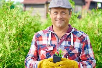 Gardener casual nature farmer agriculture