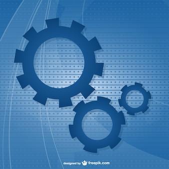 gear  test tube vector