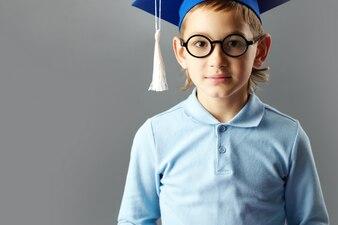 Generation blue child youthful kid