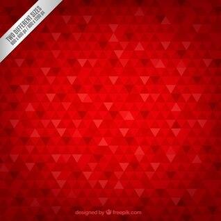 Geometric background in carmine tone