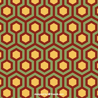 Geometric pattern in abstract style