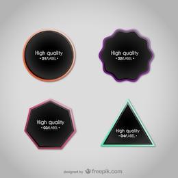 Geometrical labels