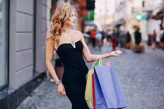 Gift women color smile shop