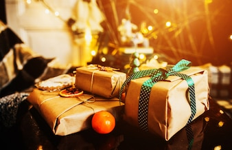 Gifts ready for christmas
