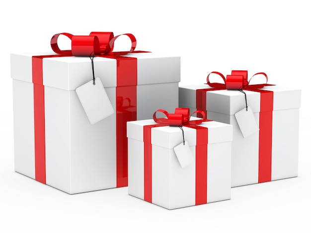 Gifts with different sizes