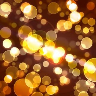 Gilded light dots background