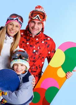 Glad pretty recreational snowboarder happy