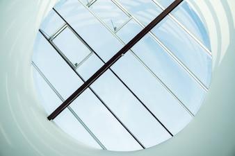 Glass skylight