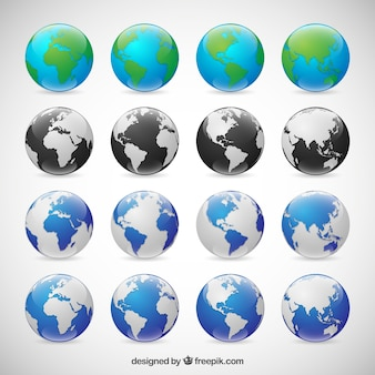 Globes collection