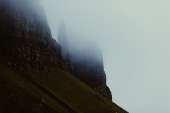 Gloomy mountains