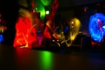 Glowstick Dance, glowing