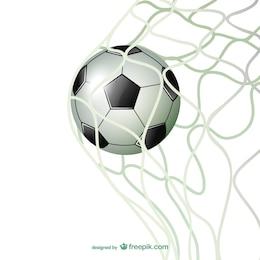 Goal  football gate soccer vector