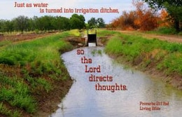 god directs thoughts
