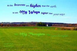 god s ways thoughts higher