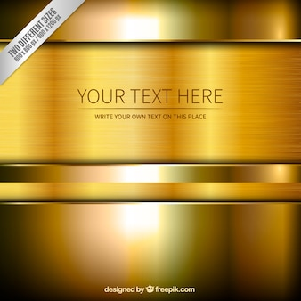 Gold background template