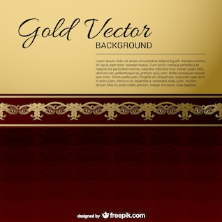 Gold-Black Vintage Backgrounds