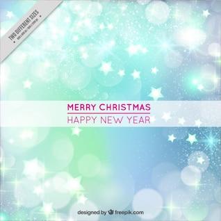 Golden Christmas card vector