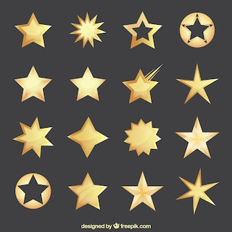 Golden stars collection