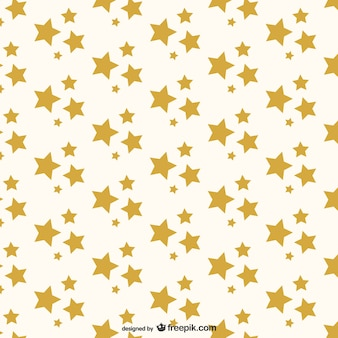 Golden stars pattern