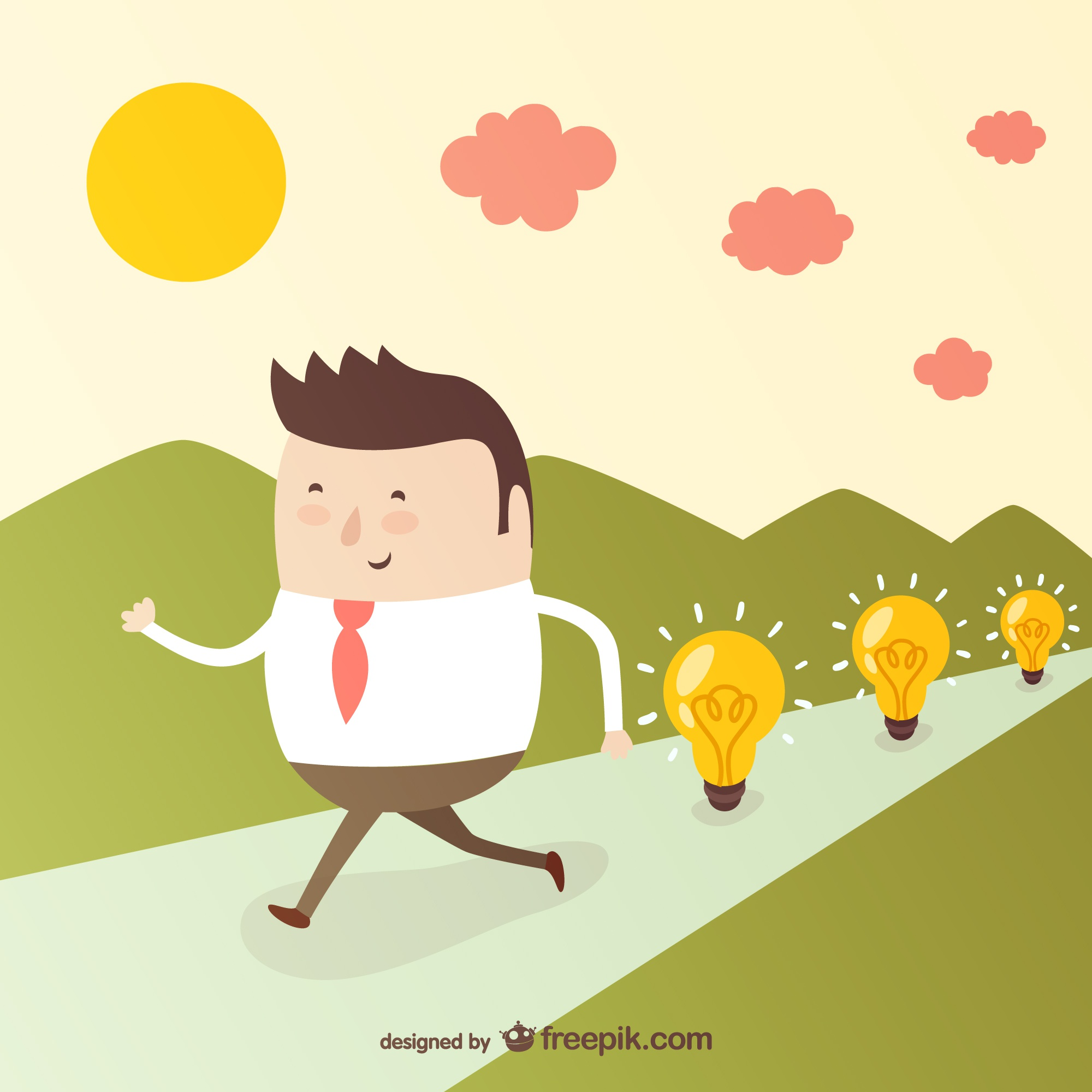 Good ideas in business vector