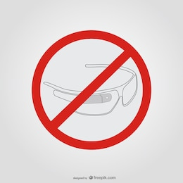Google glasses stop sign