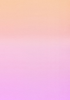 Gradient orange to pink textured paper backbround