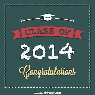 Graduation vector free poster